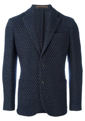 Eleventy patterned blazer