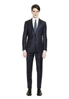 MILANO EASY CHECKED WOOL SUIT