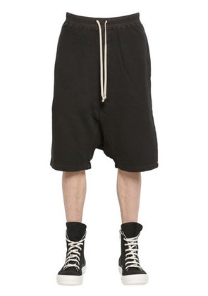 DRKSHDW COTTON JOGGING SHORTS