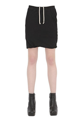 DRKSHDW COTTON JERSEY JOGGING SHORTS