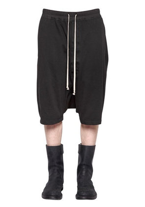DRKSHDW HEAVY JERSEY JOGGING SHORTS