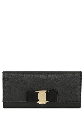 SAFFIANO LEATHER CONTINENTAL WALLET