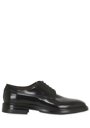 BRUSHED HORSE LEATHER DERBY SHOES