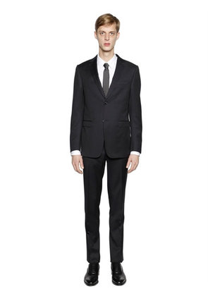 VIRGIN WOOL TWILL SUIT