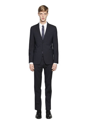 MICRO STRIPED STRETCH VIRGIN WOOL SUIT