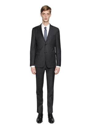 MICRO WEAVE SUPER 130'S WOOL SUIT