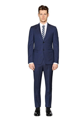 SUPER 130'S WOOL TWILL SUIT
