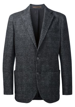 Eleventy checked casual blazer
