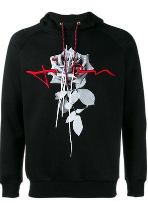 Dior Homme rose print hoodie