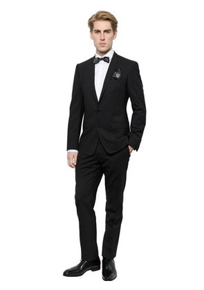 STRETCH WOOL GOLD FIT SUIT