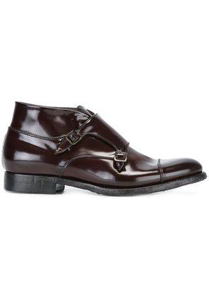 Silvano Sassetti monk strap ankle boots