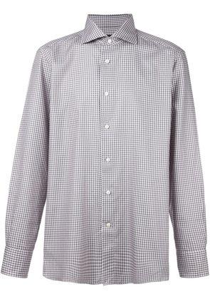 Ermenegildo Zegna plaid button down shirt