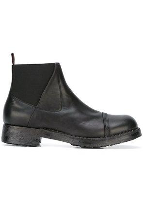 Silvano Sassetti chunky heel chelsea boots