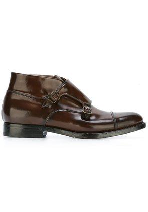 Silvano Sassetti monk boots