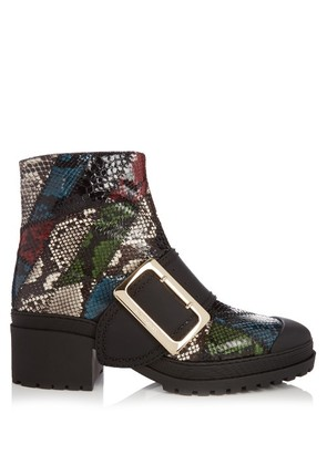 The Buckle watersnake ankle boots