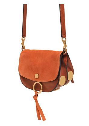 KURTIS SUEDE & SMOOTH LEATHER BAG