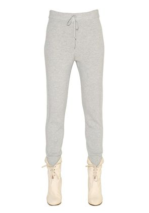 CASHMERE KNIT JOGGING PANTS