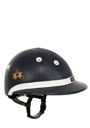 PRO LEATHER POLO HELMET