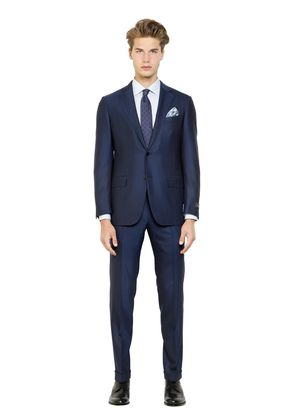 MILANO EASY WOOL HERRINGBONE SUIT