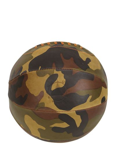 LIMIT.ED CAMOUFLAGE LEATHER BASKETBALL