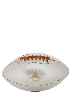 LMT.ED SILVER LEATHER AMERICAN FOOTBALL