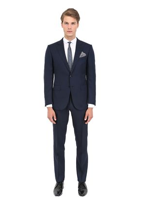 COOL EFFECT WOOL&SILK BLEND SUIT