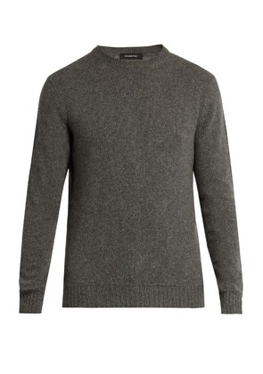 Crew-neck cashmere sweater