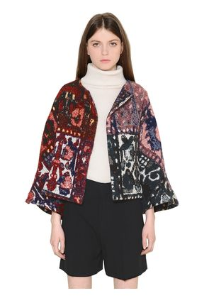 TAPESTRY JACQUARD SHORT JACKET