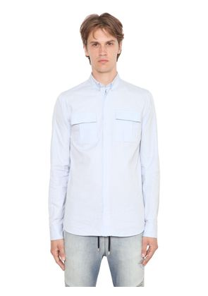 BUTTON DOWN OXFORD COTTON SHIRT