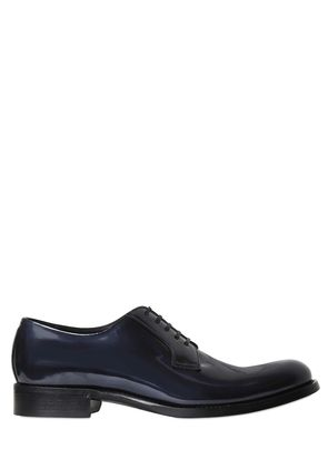 TAORMINA PATENT LEATHER DERBY SHOES