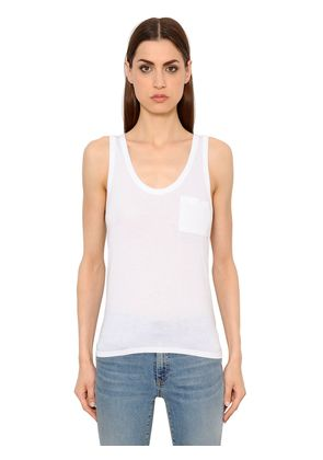 ONE POCKET JERSEY TANK TOP