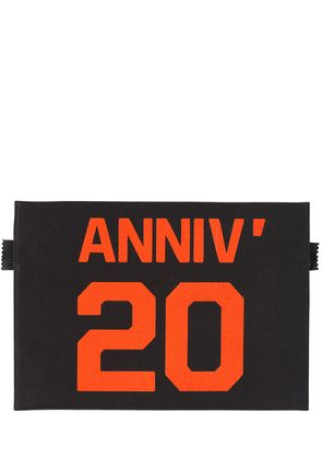 20 YEARS TECHNO CANVAS SMALL POUCH