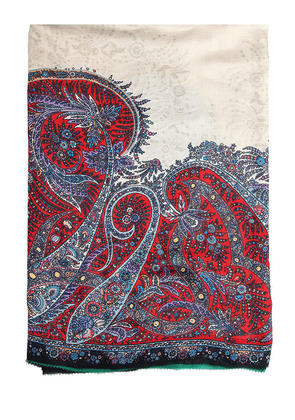 BOMBAY PAISLEY PRINTED SCARF