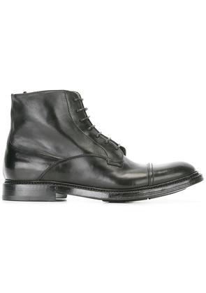 Silvano Sassetti lace-up boots, Men's, Size: 7.5, Black