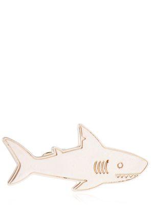 SHARK STERLING SILVER TIE CLIP