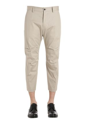 TIZZY COTTON TWILL PANTS
