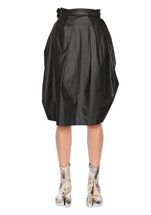 COTTON POPLIN BALLOON SKIRT