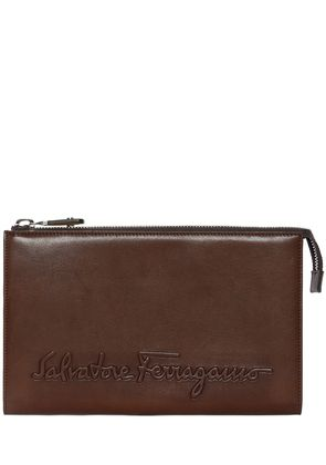 KENTUCKY SIGNATURE LEATHER POUCH