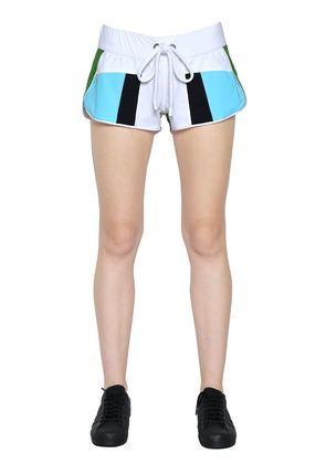 HONI PATCHWORK NYLON SHORTS