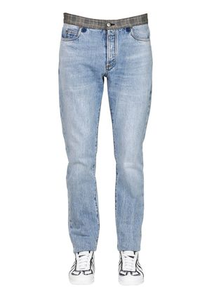 19CM SUPER BLEACH SOFT DENIM JEANS
