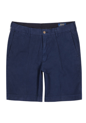 Newport navy Pima cotton shorts