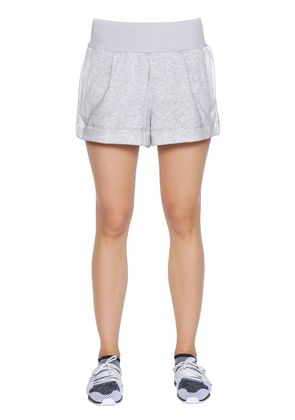 YOGA ORGANIC COTTON TERRYCLOTH SHORTS
