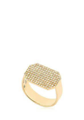 INFINITY DIAMOND PAVE RING