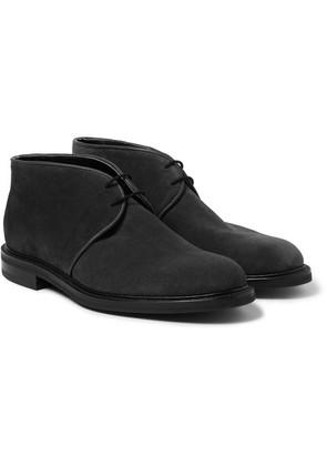 John Lobb - Grove Suede Chukka Boots - Charcoal