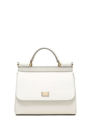 MICRO SICILY DAUPHINE LEATHER BAG