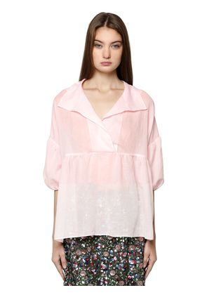 LOOSE COTTON VOILE TOP