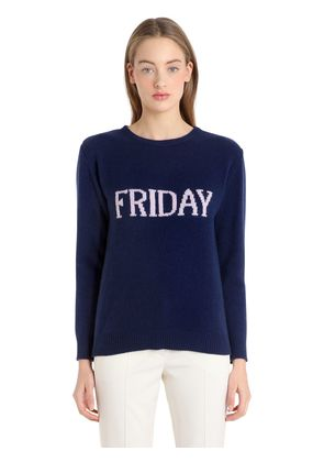 FRIDAY WOOL & CASHMERE KNIT SWEATER