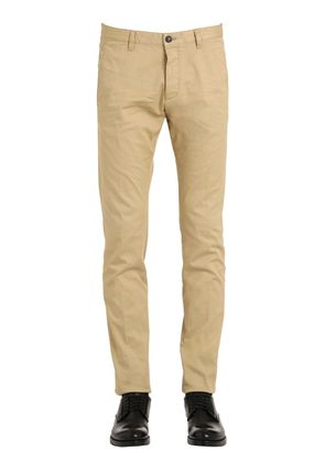 TIDY STRETCH COTTON DRILL CHINO PANTS