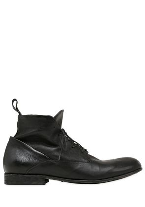 WASHED SOFT LEATHER BOOTS