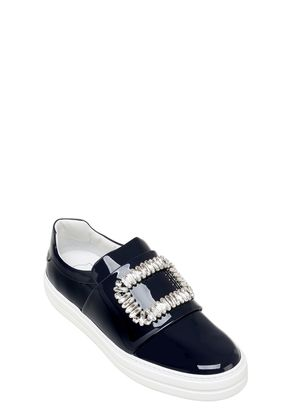 25MM SNEAKY VIV PATENT LEATHER SNEAKERS